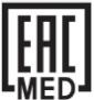 EAC MED Zeichen / W